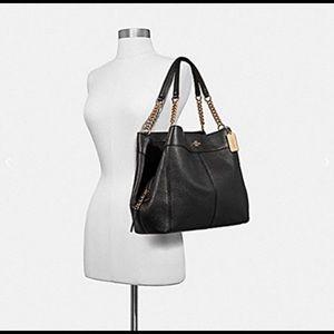 Coach Bags - Coach Lexy Chain | Bag | Black | NWT